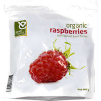 Viking Organic Raspberries 400g