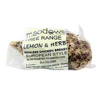Meadows Lemon Herb Chicken Breast 220g