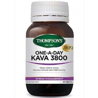 Thompsons One-a-Day Kava 3800 (60 Tablets)