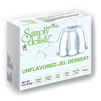 Simply Delish Jelly Dessert Unflavored 9g