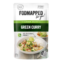 Fodmapped Green Curry Sauce 200g