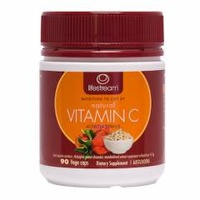 Lifestream Natural Vitamin C Acerola Berries 90 Vege Caps