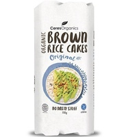 Ceres Organics Brown Rice Cakes Original 110g