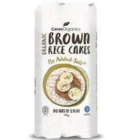 Ceres Organics Brown Rice Cakes (No Added Salt) 110g