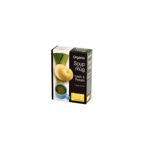 Just Wholefoods Organic Soup in a Mug Leek & Potato 68g