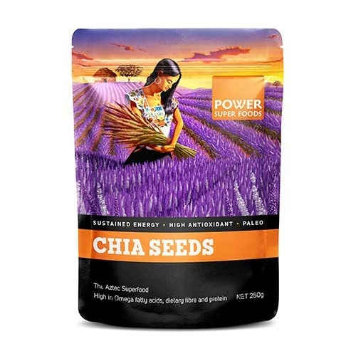 Power Super Foods Chia Seeds 250g