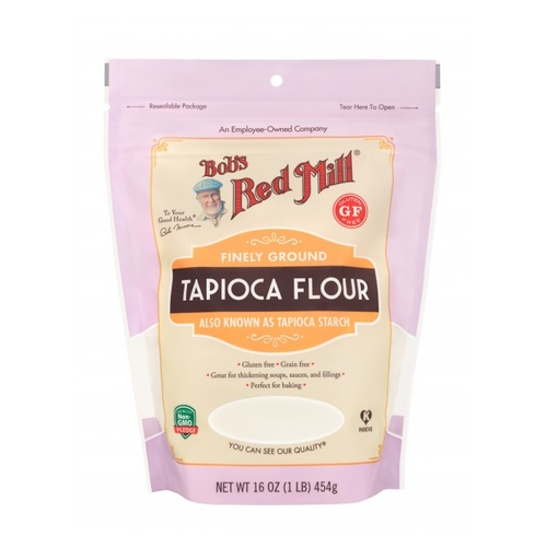 Bobs Red Mill Finely Ground Tapioca Flour 454g