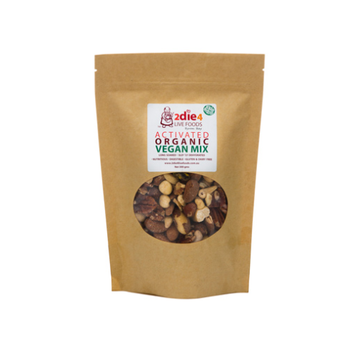 2die4 Activated Mixed Nuts Organic Vegan 120g