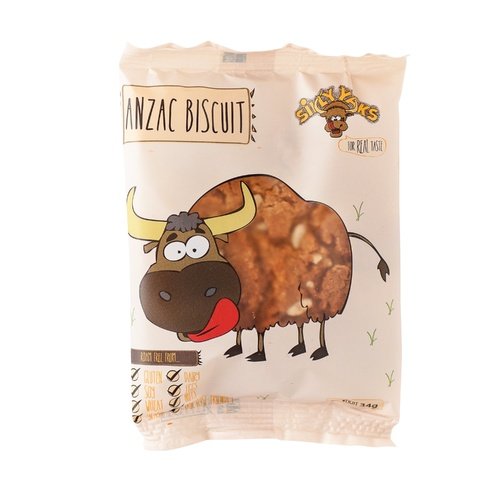 Silly Yaks Gluten Free Anzac Biscuit Single 34g