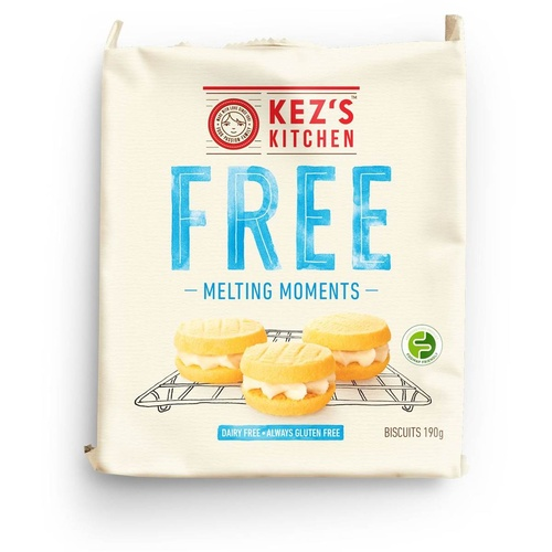 Kezs Melting Moments 190g