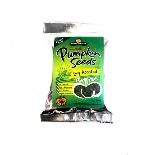 Pumpkin Seeds Australia Dry Roasted Pumpkin Seeds 100g