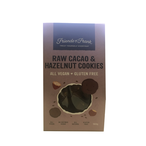 Friends of Frank Raw Cocao & Hazelnut Cookies 160g