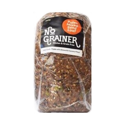 No Grainer Paleo Mixed Seed Loaf 620g